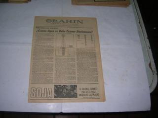 Clarin Rural 1974 Molino De Viento Agua Soja Plaga Quimico
