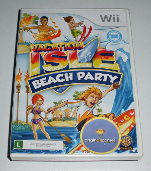 Vacation Isle Beach Praia Férias Leg.pt ¦ Jogo Wii Orig Lacr