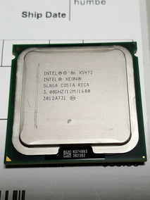 2 Processador Intel Xeon X5472 Quad Core 3.0 Ghz Dell Hp