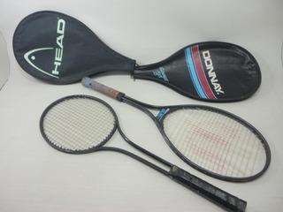 Antigas Raquetes De Tenis P/ Restauro