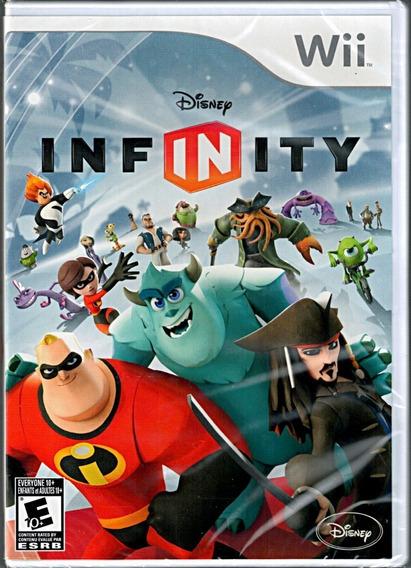 Jogo Disney Infinity Nintendo Wii Game Somente Disco Sem Acessórios