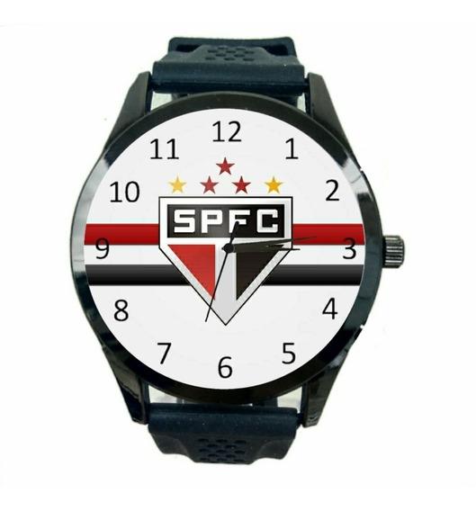 São Paulo Relógio Feminino Promoção Oferta Novo Time Fc T604