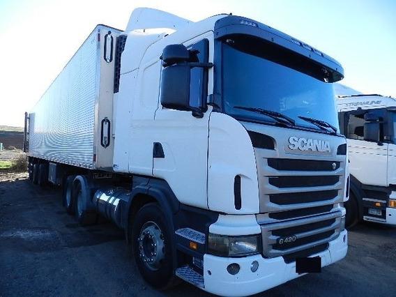 Scania G 420 6x2 2011/2012 Original Sem Arla