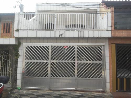 Imagem 1 de 22 de Sobrado À Venda, 5 Quartos, 1 Suíte, 2 Vagas, Silvina - São Bernardo Do Campo/sp - 73466