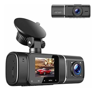 Toguard Dual Dash Cam With Ir Vision Nocturna, Hd 1080p Fron