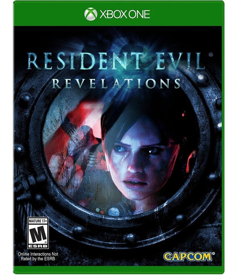 Resident Evil: Revelations Xbox One Mídia Física Lacrado