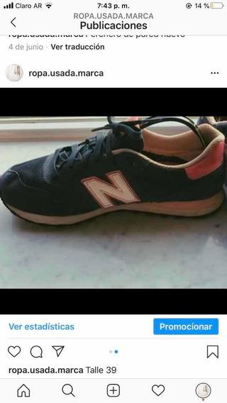 Zapatillas New Balance Talle 39