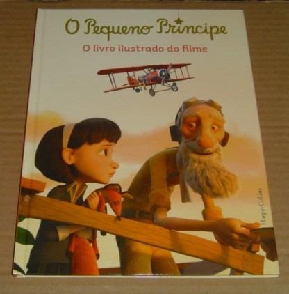 O Pequeno Principe Livro Ilustrado Do Filme Novo