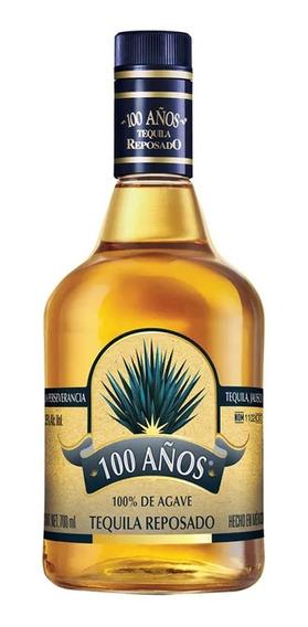 Tequila 100 Años Azul Reposado 700 Ml