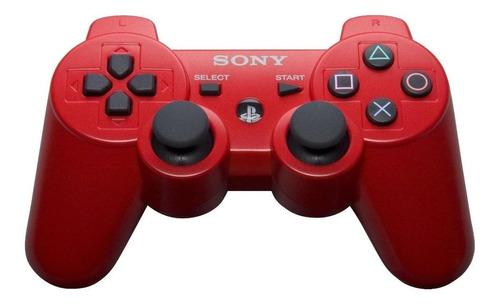 Joystick inalámbrico Sony PlayStation Dualshock 3 red