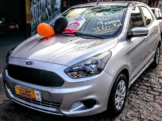 Ford Ka Se 1.0 Flex Unico Dono Ano 2017