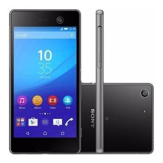Smartphone Sony Xperia M5 E5653 16gb Câm.13mp 21.5mp Preto