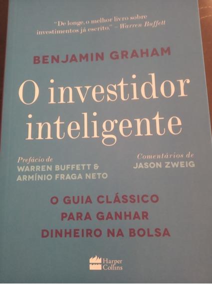 Livro O Investidor Inteligente. Livro Físico.