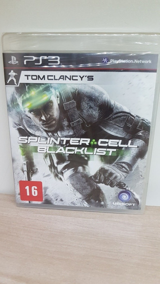 Splinter Cell Blacklist Ps3 Novo E Lacrado De Fábrica