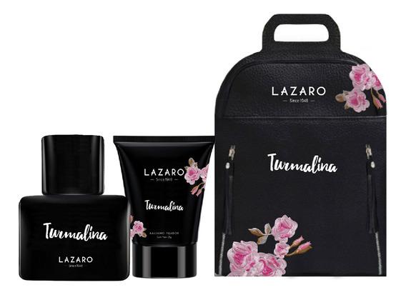 Perfume Mujer Lazaro Turmalina Edp 50ml + Bálsamo Fijador