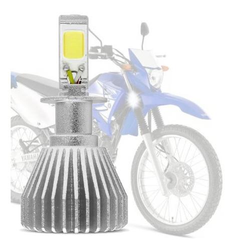 Imagem 1 de 6 de Led 2d H4 6000k Efeito Xenon Yamaha Xtz 125 K