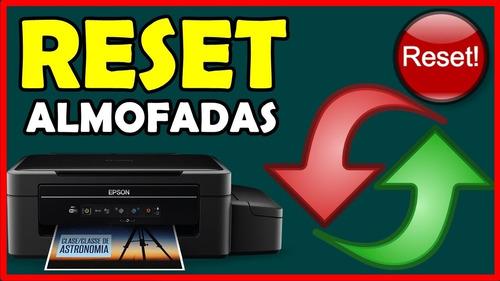 Reset Almofada Epson