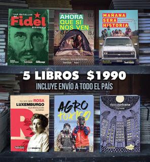 Promo 5 Libros Cuadernos De Sudestada