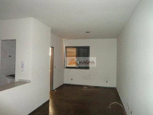 Kitnet Com 1 Dormitório Para Alugar, 31 M² Por R$ 500,00/mês - Centro - Ribeirão Preto/sp - Kn0005