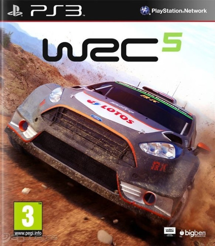 Wrc World Rally Championship 5 Ps3