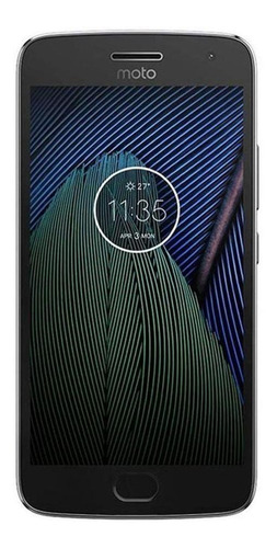 Celular Smartphone Motorola Moto G5 Plus Xt1680 32gb Cinza - Dual Chip