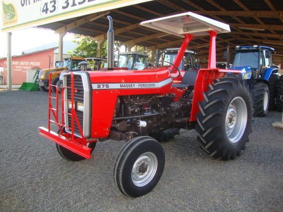Trator Mf 275 4x2.