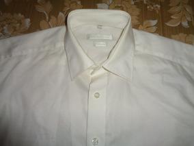 Camisa De Vestir Blanca Selection Talla 39 - M