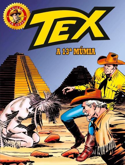 Tex - A 13ª Múmia - Vol. 30 - Edição Gigante Em Cores