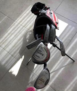 Palos De Golf ( 6 ) Marca Nitro Blaster Ideal Chicos - Usado