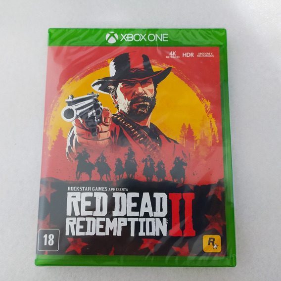 Red Dead Redemption 2 Xbox One Lacrado