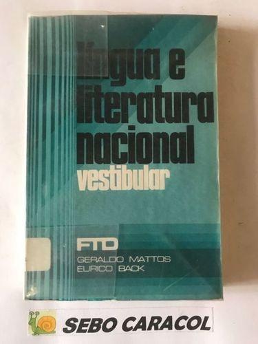 Língua E Literatura Nacional Vestibular