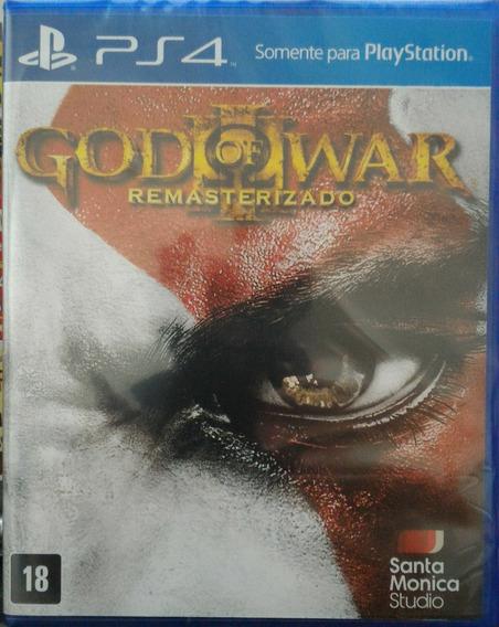 Ps4 God Of War 3 Iii Novo Lacrado Midia Fisica