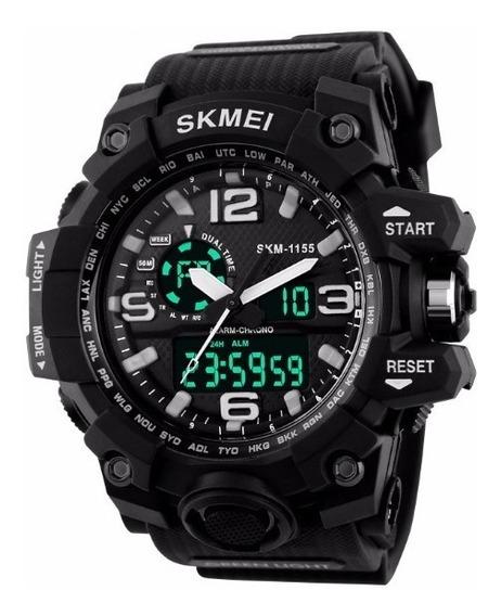 Relógio Masculino Preto Skmei S-shock Digital Prova D