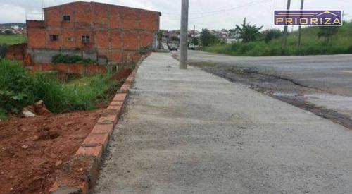 Imagem 1 de 2 de Terreno À Venda, 125 M² Por R$ 75.000,00 - Jardim Nova Aparecidinha - Sorocaba/sp - Te0006