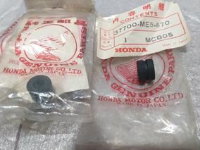 Coxim Suporte Painel Cb450 Original Honda Par Cod37700me5670