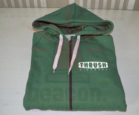 Campera Friza Capucha Estampado Personalizado Uniforme