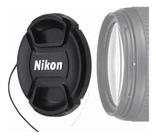 Tapa P/ Lente Ø55mm P/ Camara Nikon D3400 Lente Af-p 18-55mm