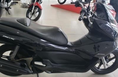 Motocicleta Honda Pcx 2015 Preta
