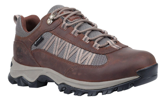 Zapatilla Hombre Mt. Maddsen Lite Low Impermeable Café Timbe