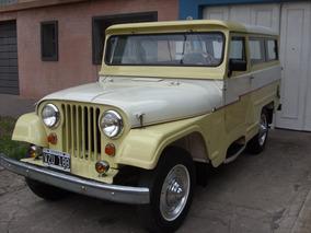 Jeep Largo 4x2 Año 1960 Original 100% Para Entendidos