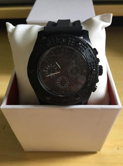 Relógio De Pulso Ecko Unltd E16503 Preto Masculino Original