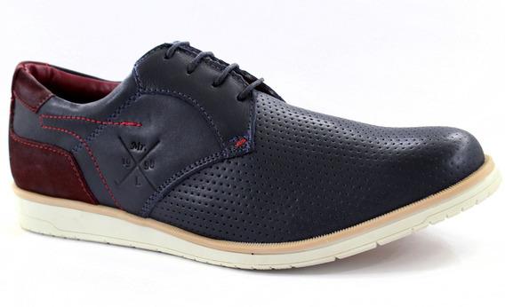 Sapato Oxford Masculino Couro Legitimo Confortável Escritor