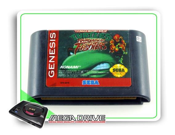 Teenage Mutant Ninja Turtles T. Fighters Original Mega Drive