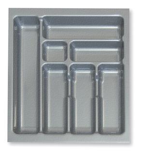 Cubiertero Organizador Plastico 49 X 54 Cajon De Cocina