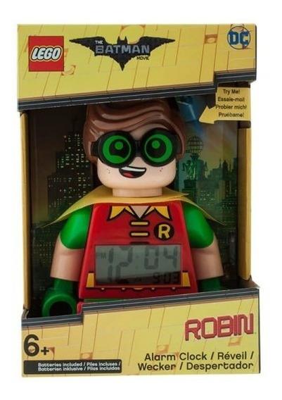 Reloj Despertador Lego Robbin Con Luz