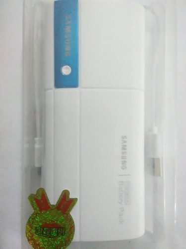 Power Bank Samsung Cargador Portatil 20.800 Mah 3 Usb Sme