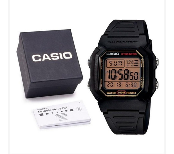 Relogio Casio Digital W800