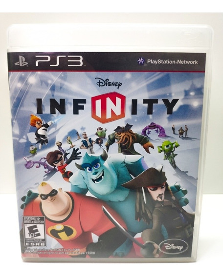 Jogo Disney Infinity Ps3 Mídia Física Frete 12,00