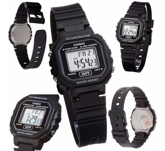 Relógio Feminino Casio La-20wh-1adf Digital + Frete + Nf