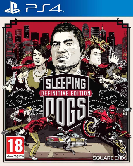 Sleeping Dogs Definitive Midia Digital Original Ps4 1